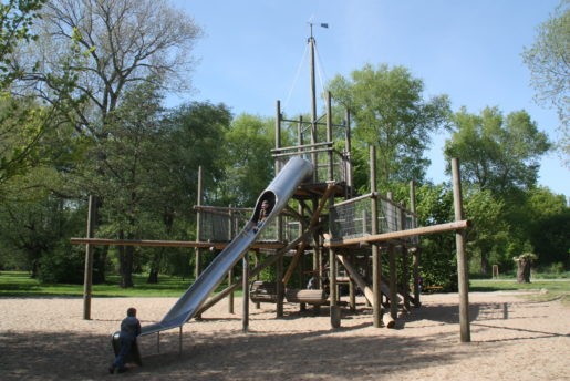 Playgrounds in Neubrandenburg
